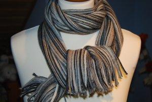 toller gestreifter Schal in Brauntönen