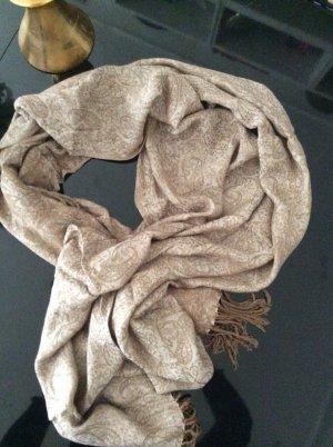 Toller großer Schal in beige