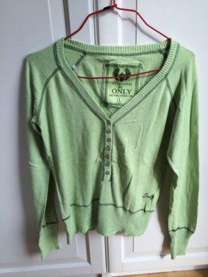 Toller grüner Pullover Only Gr. L