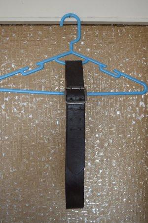 Takko Faux Leather Belt anthracite-dark grey imitation leather