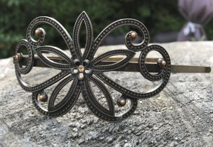 Hair Circlet bronze-colored-silver-colored metal