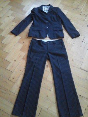 edc by Esprit Traje de pantalón blanco-azul oscuro