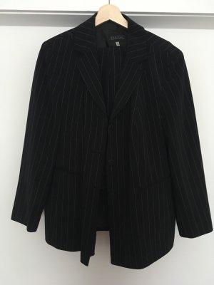 Barisal Traje de pantalón negro-blanco