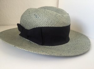 H&M Chapeau de soleil noir-gris vert