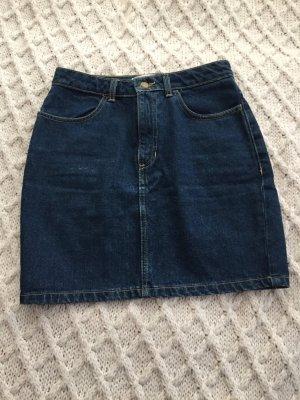 American Apparel Jupe en jeans bleu foncé