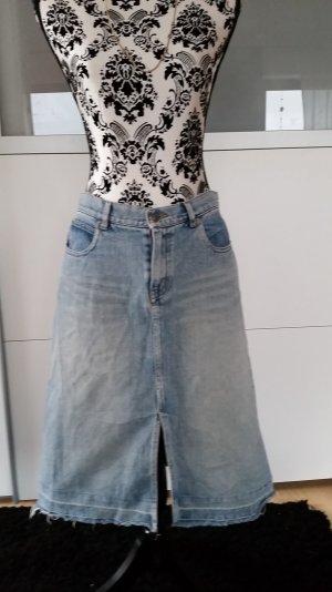 Toller Jeansrock mit Schlitz -anschauen Vintage