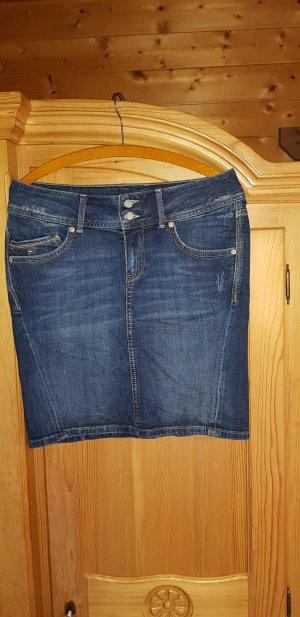 Tommy Hilfiger Denim Denim Skirt dark blue