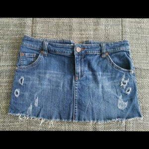 toller jeansrock von roxy gr.m 38/40