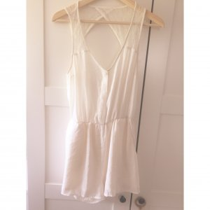 H&M Jumpsuit white-natural white