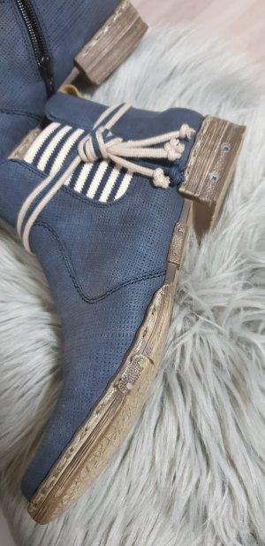 """Toller Knöchel hoch"""" rieker"""" stiefeletten /boots 38"""