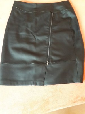 Gerry Weber Faux Leather Skirt black