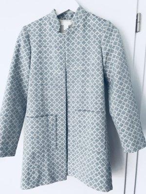 H&M Abrigo corto azul bebé-azul celeste