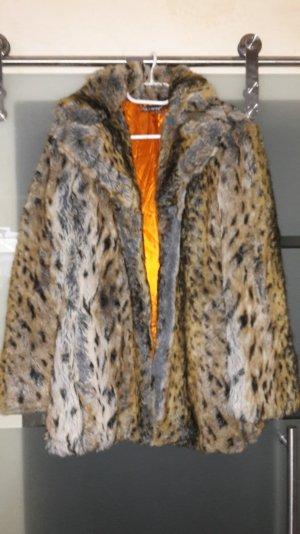 toller Kurzmantel in Leopard-Optik