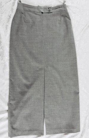 toller, langer Damen Rock von Steilmann, hellgrau, Größe 38,