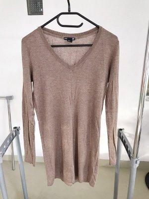 H&M Long Sweater light brown-brown