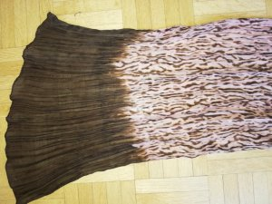 Comma Halsdoek bruin-stoffig roze