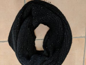 H&M Snood black-silver-colored