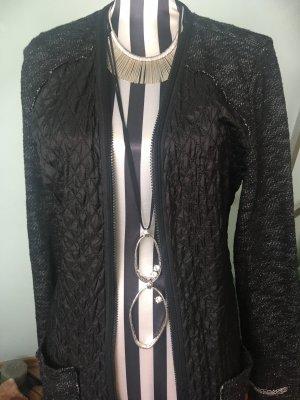 Cream Manteau mi-saison noir