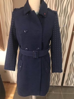 Melrose Short Coat dark blue