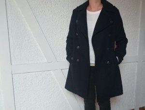 Toller Mantel in dunkelblau Größe 38