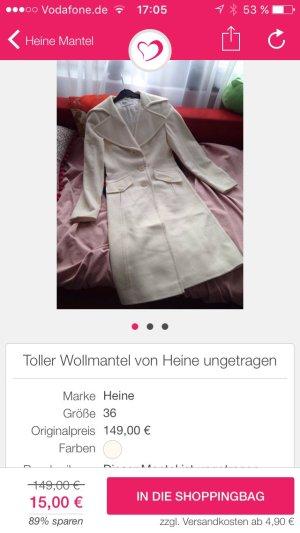 Toller Mantel von Heine ungetragen