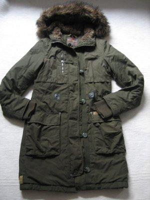Toller Mantel von QS Dress yourself in khaki, Parka, Größe S, 36
