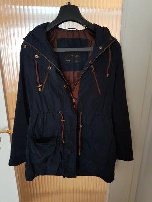 Toller Mantel von Zara in dunkelblau ♡♡♡