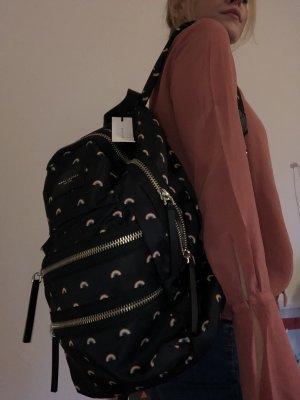 Toller Marc Jacobs Rucksack Regenbogen bunt schwarz unbenutzt neu Tasche Designer Designertasche