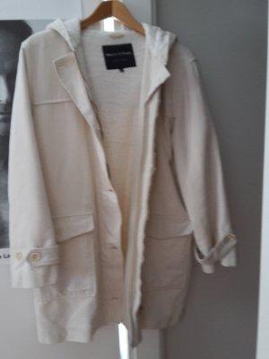 Toller Marc O´Polo Oversize Herbstmantel Mantel Jacke Parka 36 M S weiß Kapuze