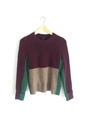 COS Maglione di lana multicolore Lana d'alpaca