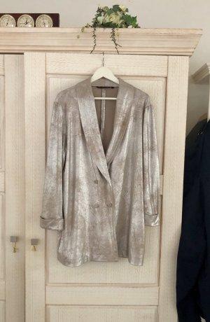 Toller Metallic Long-Blazer von Zara