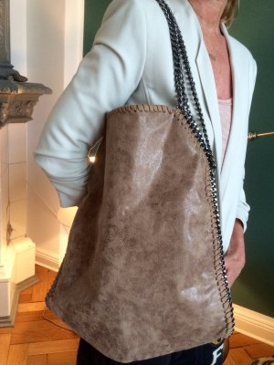 Toller moderner  Shopper in beige