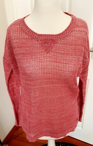 Roxy Sweater wolwit-lichtrood