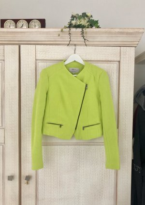 Zara Short Blazer meadow green-lime yellow