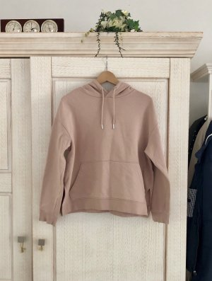 H&M Hooded Sweater dusky pink cotton