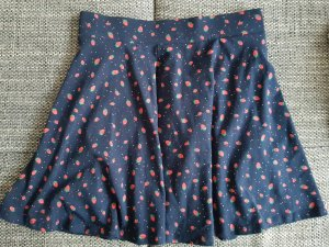 C&A Skater Skirt brick red-dark blue