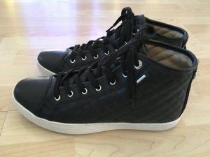 toller neuwertiger Geox-Sneaker Respira in Schwarz Gr. 40, Top