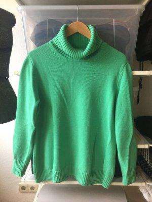 Turtleneck Sweater mint-lime-green mixture fibre