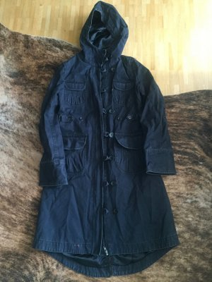 Toller Parka Mantel Cargo-Style Used-Optik
