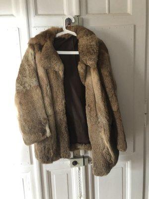 Fur Jacket beige-brown