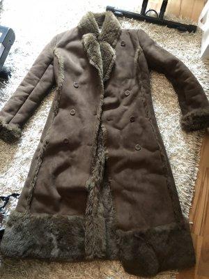 Manteau d'hiver multicolore