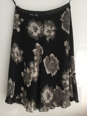 Mexx Pleated Skirt black viscose