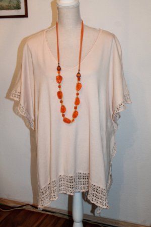 toller Poncho * Creme * Nude * Oversize * One Size *