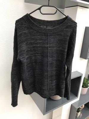 Eleven Paris Kraagloze sweater zwart