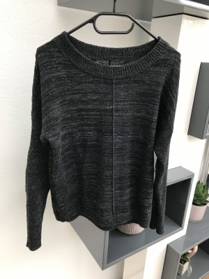 Eleven Paris Kraagloze sweater zwart