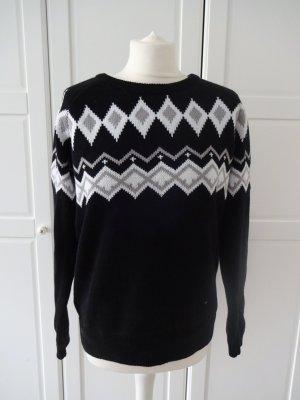 Esmara Norwegian Sweater multicolored mixture fibre