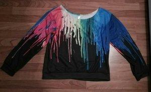 toller Pullover neu Oversize mit Farbkleksen