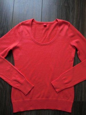Esprit Crewneck Sweater red