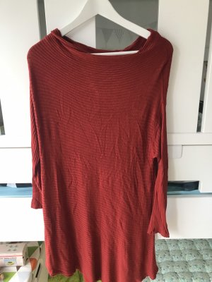 Free People Lange jumper neonrood Gemengd weefsel