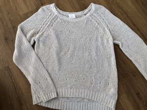 Opus Crochet Sweater gold-colored